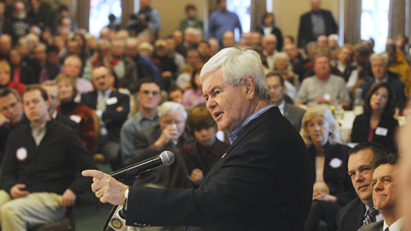 The lows and highs and lows of the Gingrich campaign