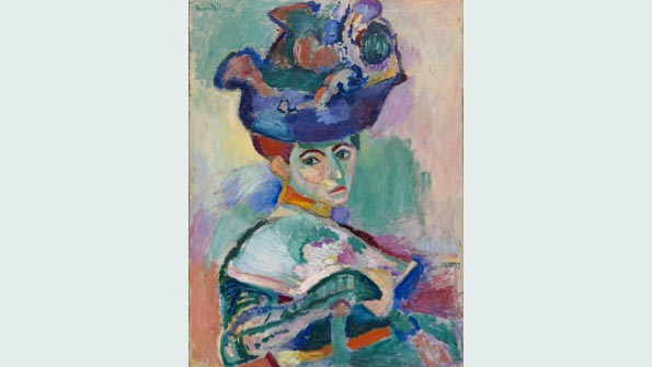 """Woman with a Hat"" (1905), Henri Matisse"
