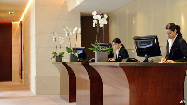 Hotels Of The Future Hold The Front Desk The Economist