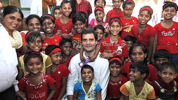 Rahul Gandhi in Allahabad