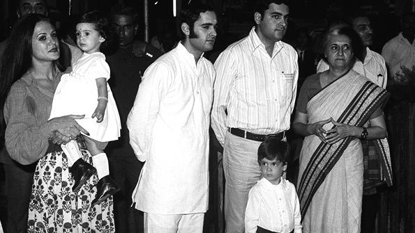 Rahul aged three
