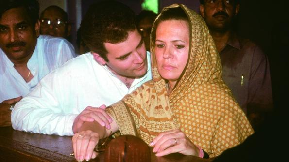 Sonia Campaigning