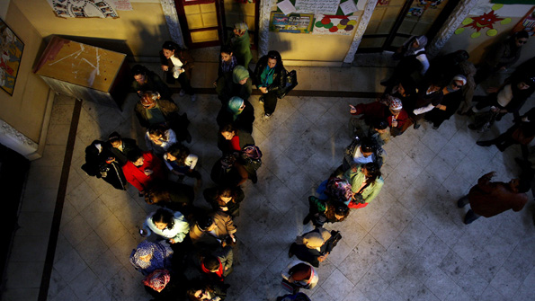 Polling in Cairo