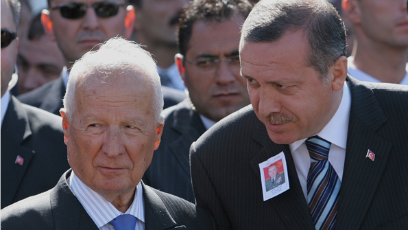 Kenan Evren and Erdogan