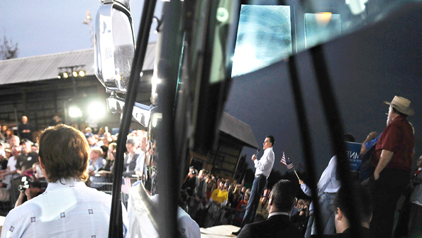 Romney's bus