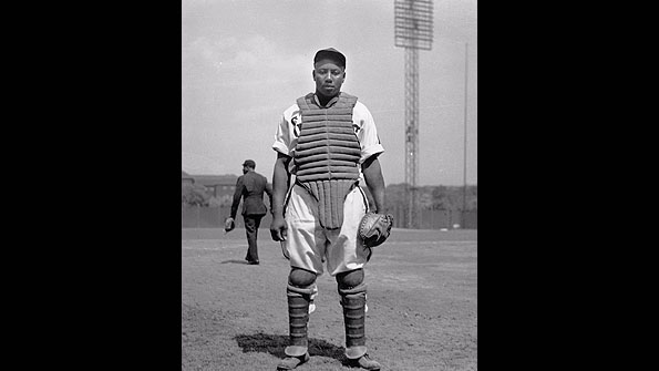 Pittsburgh native Josh Gibson, one of the stars of Negro League baseball