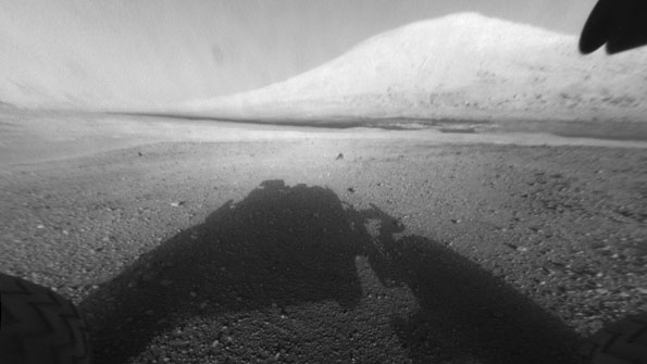 Mount Sharp and Curiosity