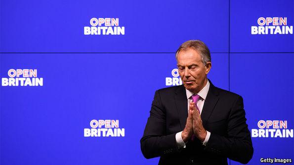 Boris Johnson and Nigel Farage lead Brexit backlash against 'condescending' Tony Blair