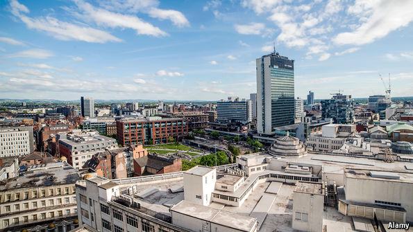 economist.com - Go north: The pragmatic case for moving Britain's capital to Manchester