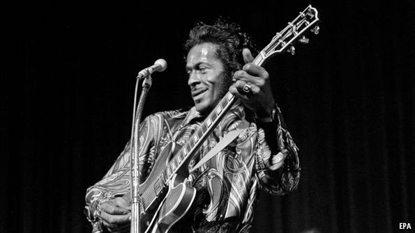 A Not-So-Goode German Newspaper Ode To Chuck Berry