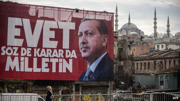 Erdogan rejects regime shift after referendum