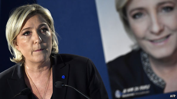 What are Marine Le Pen's odds of victory?