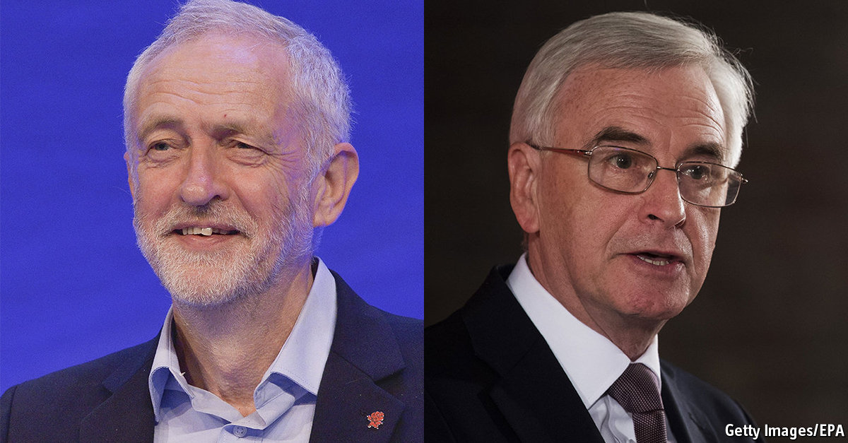 Old McDonnell has a plan. He eyes IOUs