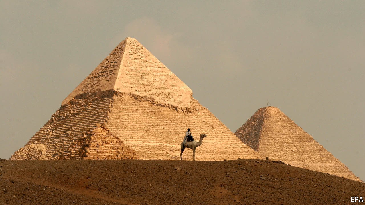 A new chamber has been detected in the Great Pyramid of Giza