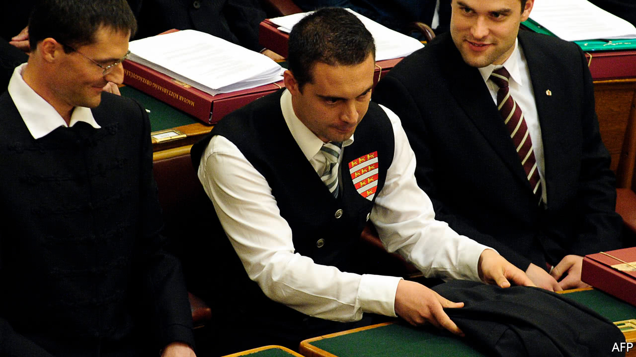 Hungary's Jobbik party tries to sound less extreme