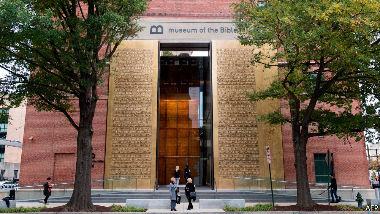 The Museum of the Bible opens in Washington, DC