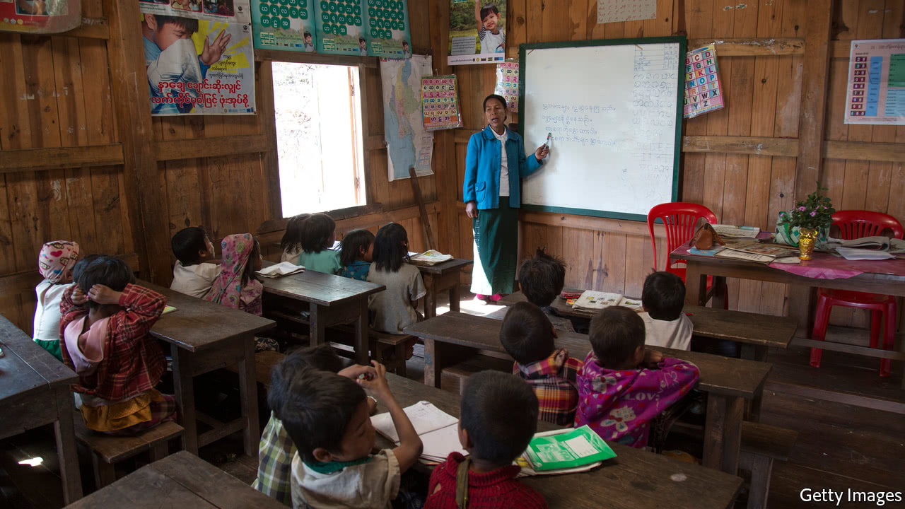 Myanmar's awful schools are a drag on the economy—and politics