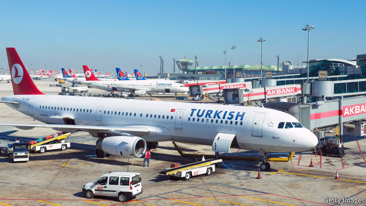 Turkish Airlines bounces back to growth
