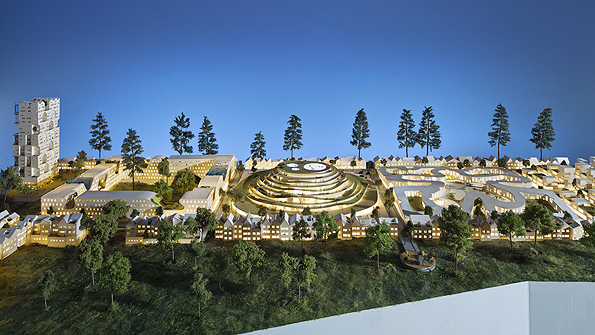 "WORKac's ""Nature-City"" project for Keizer, Oregon"
