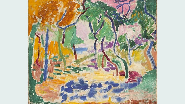 """Landscape near Collioure"" (1905), Henri Matisse"