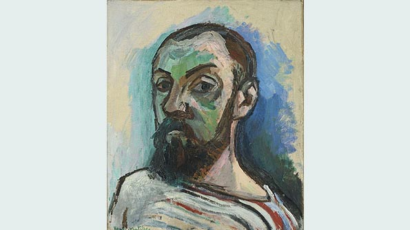"""Self-Portrait"" (1906), Henri Matisse"