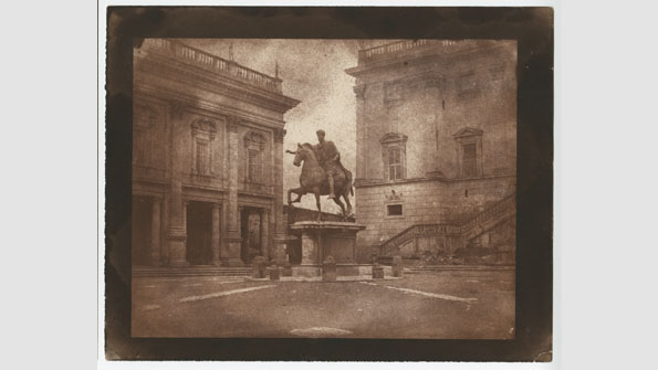 """Marcus Aurelius on the Capitoline Hill, Rome"" (1846)"