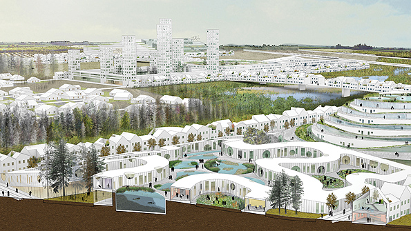 "WORKac's ""Nature-City"" for Keizer, Oregon"