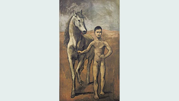 """Boy Leading a Horse"" (1905-6), Pablo Picasso"