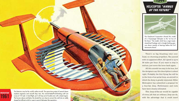 Flying car from Popular Mechanics