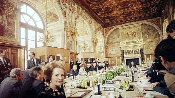 European Economic Community summit in 1984