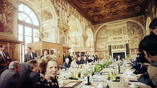 European Economic Community summit in 1984