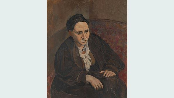 """""""Gertrude Stein"""" (1905–06), Pablo Picasso"""
