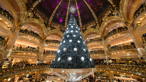 Galeries Lafayette Swarovski Christmas Tree, Paris, 2012