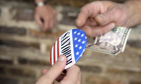 Santorum sells