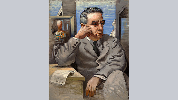 Dr. Albert C. Barnes, Giorgio de Chirico (1926)