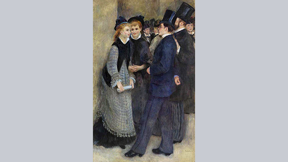 Leaving the Conservatory, Pierre-Auguste Renoir (1876–1877)