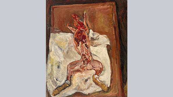 Flayed Rabbit (Le Lapin écorché), Chaim Soutine (c. 1921)