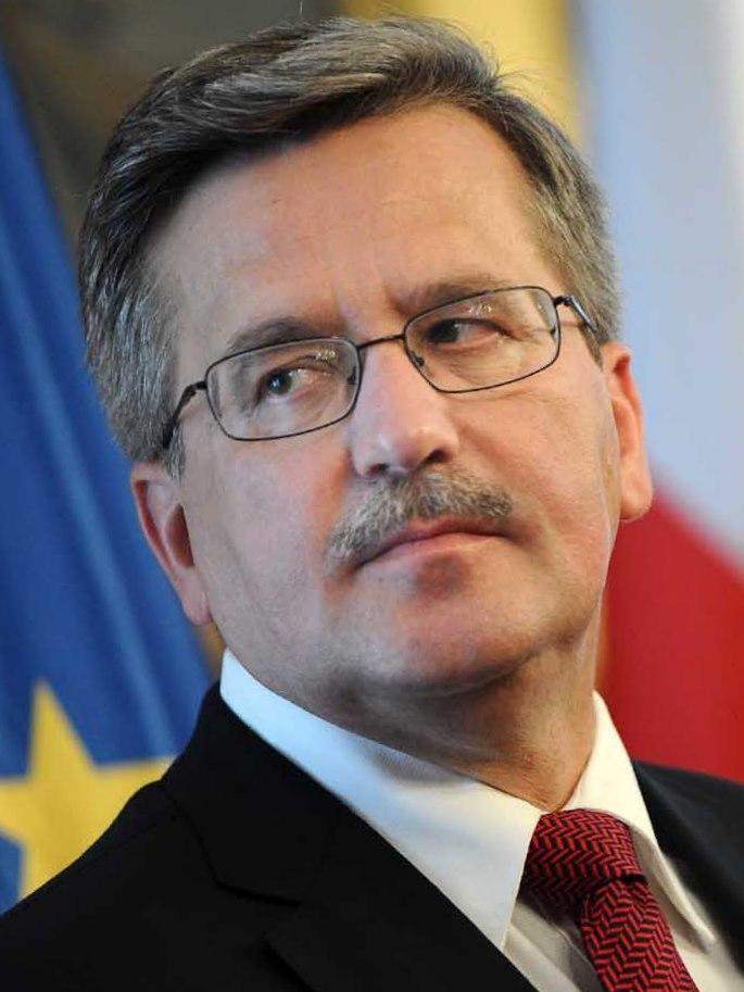 polish presidential election  president komorowski