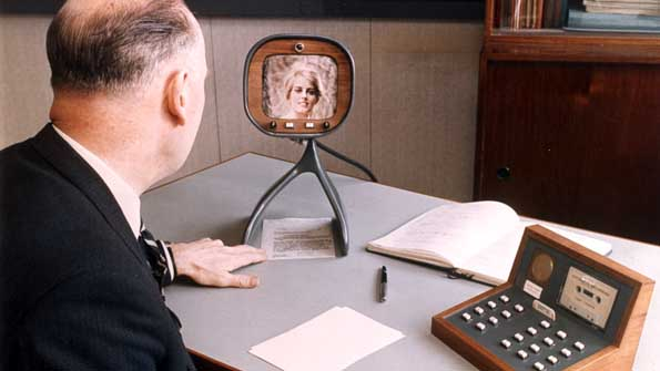 Experimental videophone from 1970