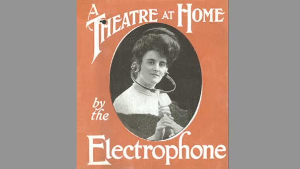 Advertisement for the Electrophone (1900)