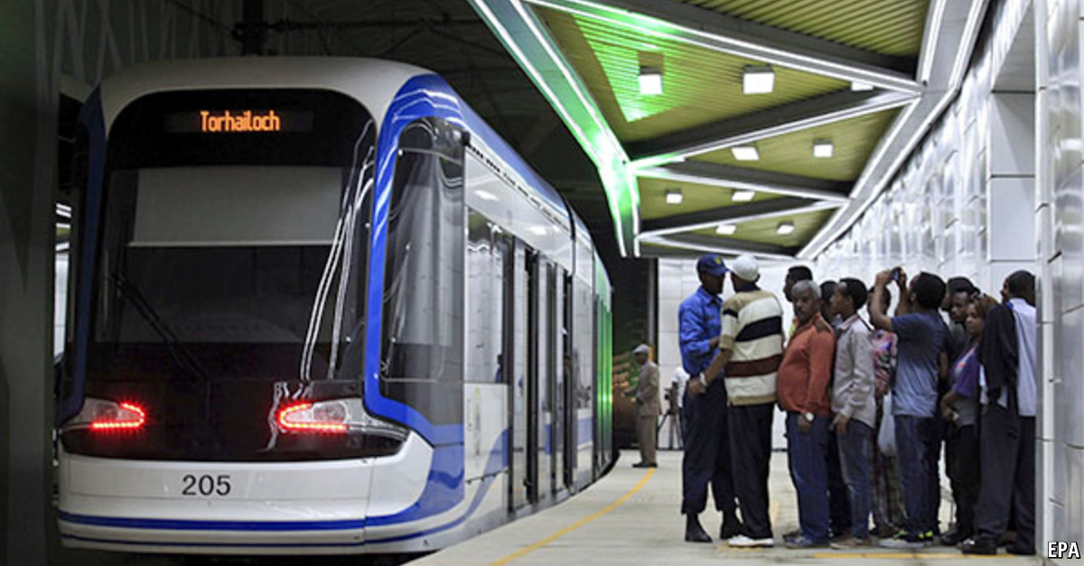 Sub Saharan Africa Gets Its First Metro The Economist