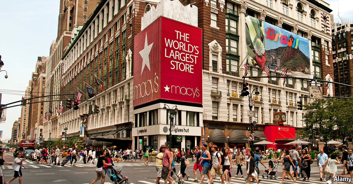us shopping department store