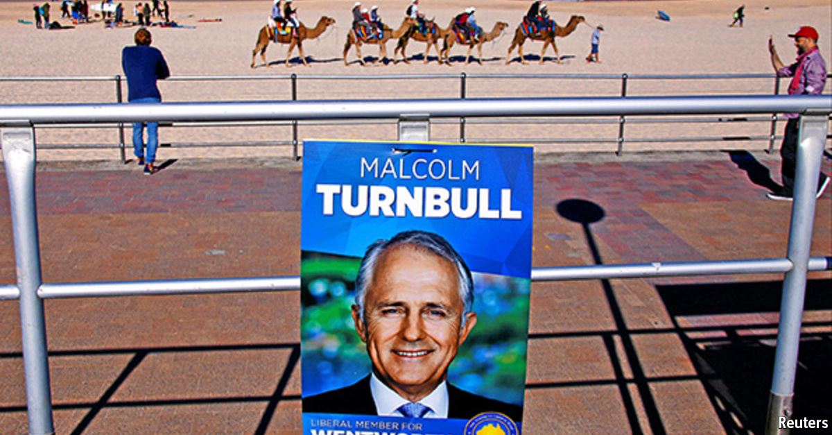 Malcolm Turnbull - Magazine cover