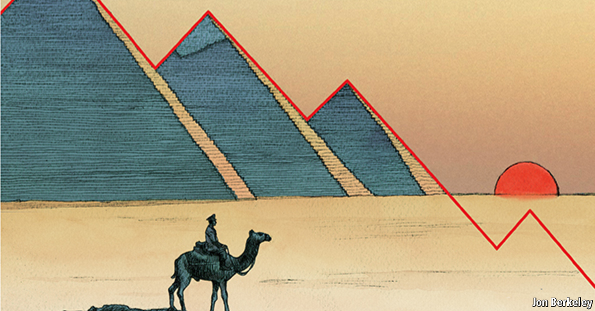 Comments On The Ruining Of Egypt The Economist