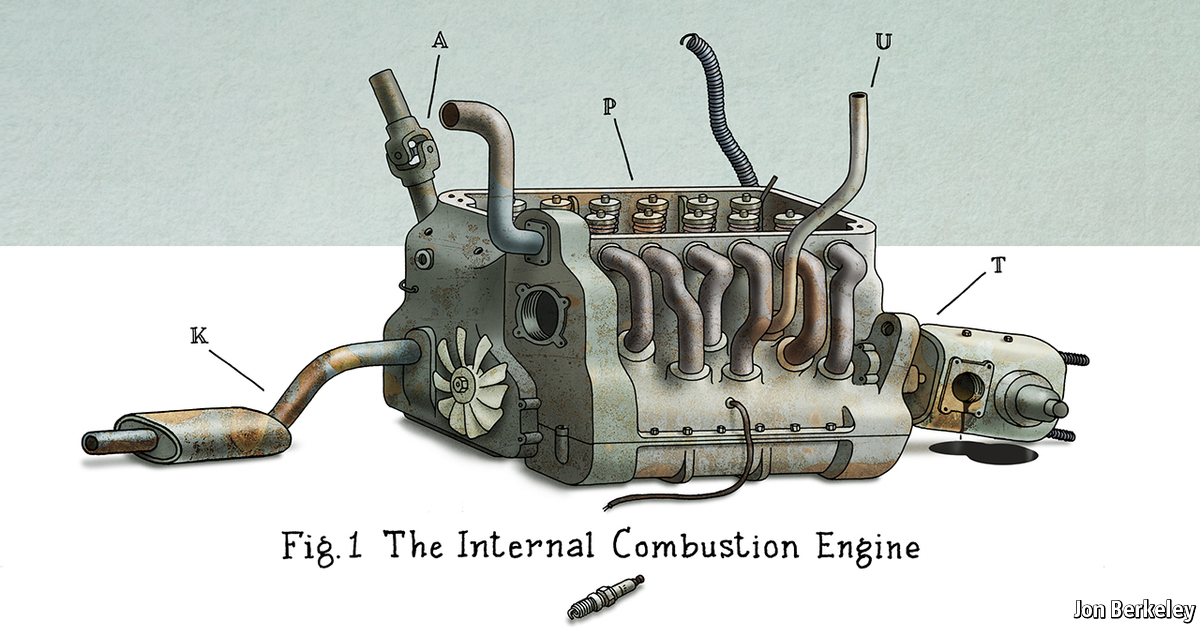 Comments on The death of the internal combustion engine – Labeled Diagram Of Internal Combustion Engine
