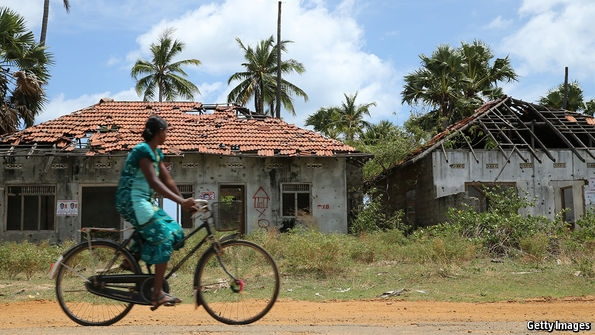 Still riven: Measures to placate Sri Lanka's Tamil minority are stalling