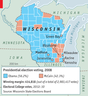 Wisconsin Is A Largely White And Rural State But With A Difference Traditionally It Has Been Socially Liberal As Well As Economically Conservative