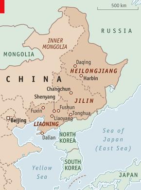 Dải hoang địa, thủ phủ của các ngành công nghiệp xác sống của Trung Quốc. Ảnh: The Economist