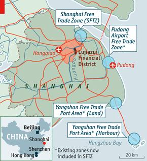 上海自贸区地图全图 上海自贸区高清全图