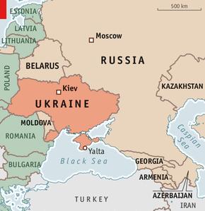 Украина. Смотрит на Запад